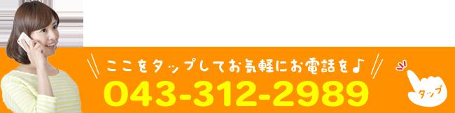 TEL043-312-2989